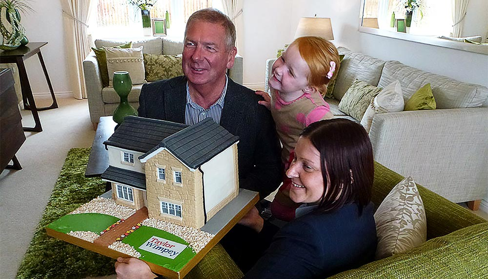 Taylor Wimpey opens the doors to its first showhome