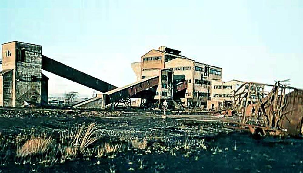 Polkemmet Colliery is flourishing